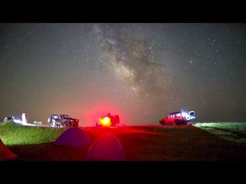 Milkyway Timelapse Georgia