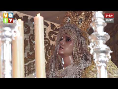 Salida de María Santísima de las Lágrimas Semana Santa Algeciras 2019 Lunes Santo