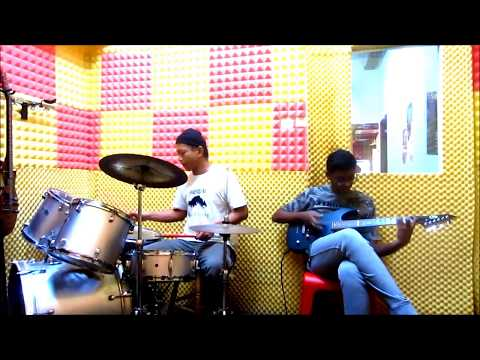 FREE JAMMING #148 - IS THIS IT - THE STROKES - DRUM & ELECTRIC GUITAR COVER