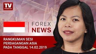 InstaForex tv news: 14.02.2019: Para Investor Menyambut Metrik China (USDX, USD/JPY, AUD/USD)