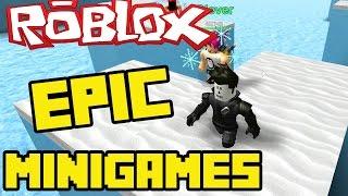 Roblox Epic Minigames! - RAINING LAVA