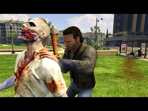 GTA 5 Brutal Kill Compilation (GTA V Rick Grimes Funny Moments Fail Thug life)