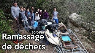 Opération ramassage de déchets - Extraits du 20 janvier