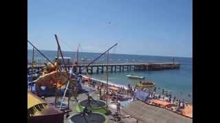 Какой пляж в Лоо(Какой пляж в Лоо показано на видео. Отдых в Лоо у самого пляжа, номера у самого моря на сайте www.Loo7.ru., 2015-07-20T11:43:22.000Z)