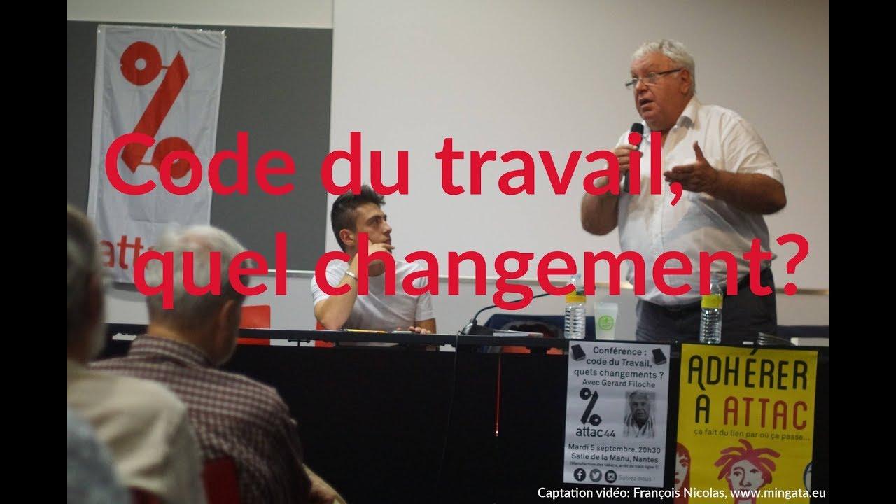 code du travail quel changement