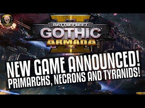 Battlefleet Gothic: Armada 2 Announced! Primarchs, Necrons and Tyranids!