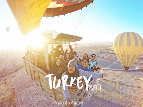 TRAVEL TURKEY - PART 1 (ISTANBUL, CAPPADOCIA) 2016