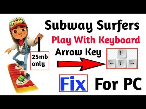 (25mb) Subway Surfers Game Play With Keyboard Arrow Key | Problem Fix & Download
