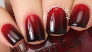 Red to Black Gradient Tutorial    KELLI MARISSA