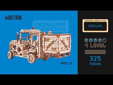 "Assembly of model ""Forklift"" (part 2)"