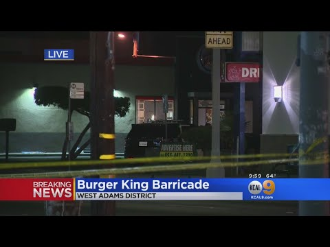 Burger King Barricade
