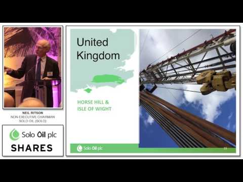 Solo Oil CEO Neil Ritson Presentation at Shares Investor Evening in Edinburgh