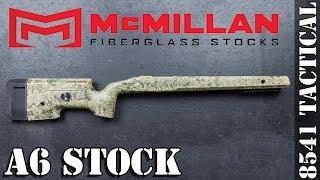 McMillan A6 Fiberglass Rifle Stock Unboxing Preview