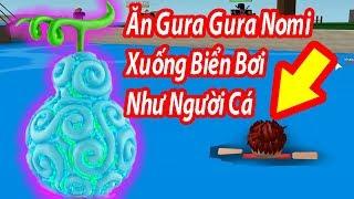 Roblox-Ability into the sea of the Gura Gura No Mi | Steve's One Piece