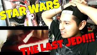Star Wars: The Last Jedi Official Teaser REACTION!!!