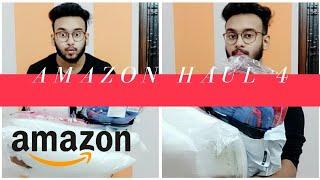 AMAZON HAUL 4 || AMAZON HAUL || BEDSHEET || PILLOW COVERS || MISTER BAGGA