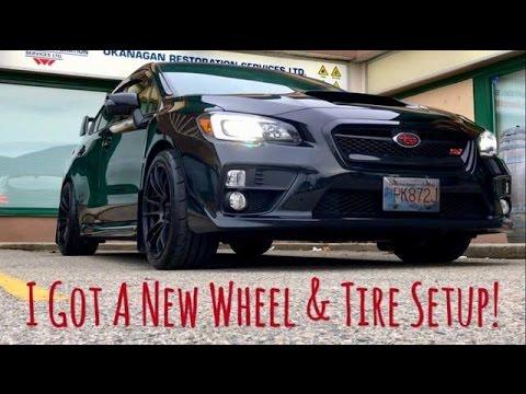 2017 Subaru STi - New Wheel & Tire Setup!!