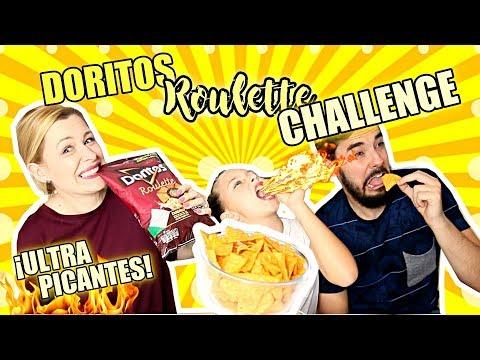 🔥 DORITOS ROULETTE CHALLENGE 🌶 I RETO DE LOS DORITOS ¡ULTRA PICANTES!