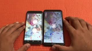 Huawei y7 prime 2018 vs Samsung galaxy s8 - Speed Test!
