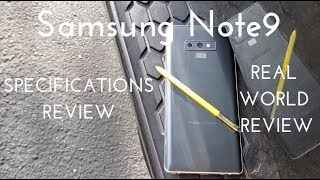 Samsung Galaxy Note9 Specs Video (Real World Review)