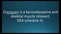 How to pronounce diazepam (Valium) (Memorizing Pharmacology Flashcard)