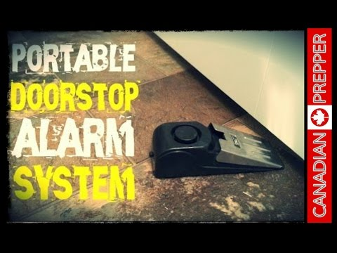 Home Security: Doorstop Alarm System