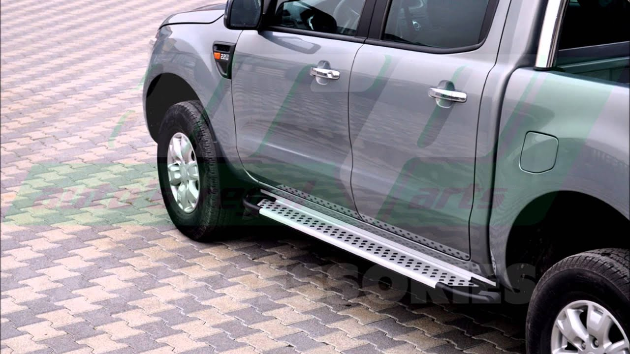 FORD RANGER SIDE STEPS RUNNING BOARD 12