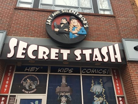 Comic book store Jay and Silent Bob's Secret Stash