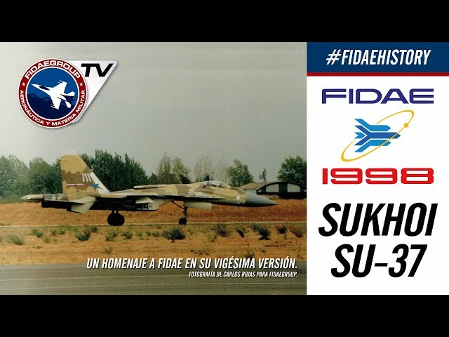 Sukhoi Su-37 Сухой Су-37 y su maniobra Cobra en FIDAE 1998, Incredible demostration