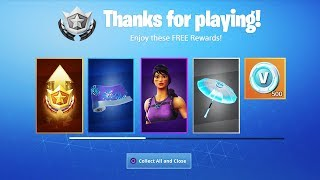 12 FREE Items in SEASON 9 of Fortnite (THANKS EPIC!)