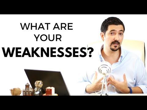 What Are Your Weaknesses? Learn How To Answer This Job Interview Question With This #1 Tip ✓