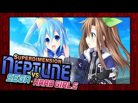 Superdimension Neptune vs Sega Hard Girls | Sega Destroys the World - Pcuspard |