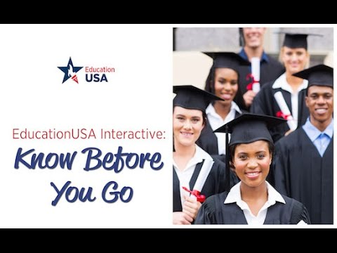 """EducationUSA Interactive: """"Know Before You Go"""""""