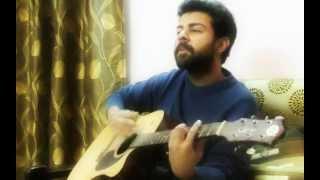 Her kisi ko nai milta yaha pyar acoustic cover by vikas sharma