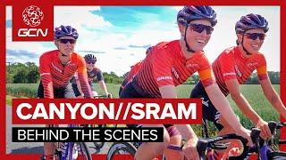 Behind The Scenes With Canyon//SRAM Racing At The Women's Tour