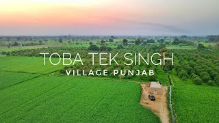 Toba Tek Singh Punjab Village Tour Pakistan Aerial View - Expedition Pakistan