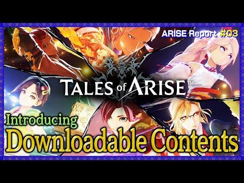 【Tales of ARISE】ARISE Report #3  DL限定版 & DLCをご紹介!(EN,TW,FR,IT,DE,ES Subs)