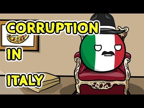 Corruption in Italy - Countryballs