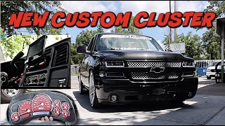 NEW CUSTOM CLUSTER AND SOUND SYSTEM ON GIVEAWAY TRUCK ( GIVEAWAY ENDS MAY 31-2020)