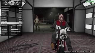 GTA V Online  HALLOWEEN CONTENT / NEW BIKE LLC SANCTUS Gameplay-No Commentary
