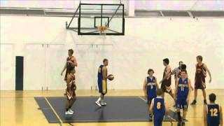 Marist College Ashgrove vs. St Peters AIC Basketball 2013