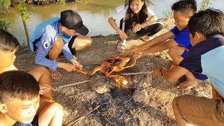 Vịt Nướng Siêu Cay Giữa Đồng - Vịt Bay Trên Lửa Siêu Độc- Con Nit channel