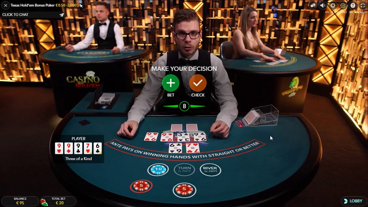 Ultimate texas holdem casino odds