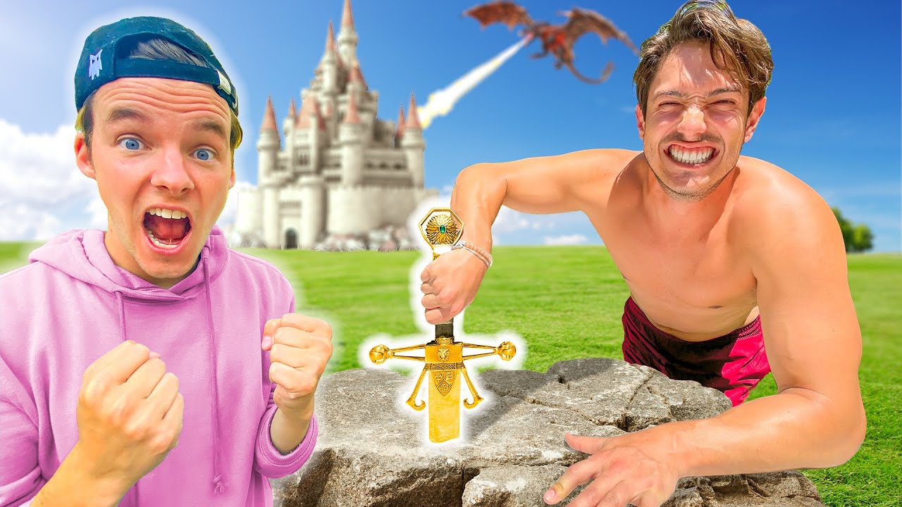 First To Pull SWORD From The Stone Wins $10,000