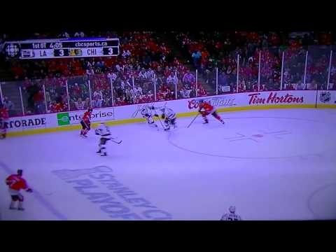 NHL Playoffs Chicago Blackhawks vs Los Angeles Kings / hockey en espanol