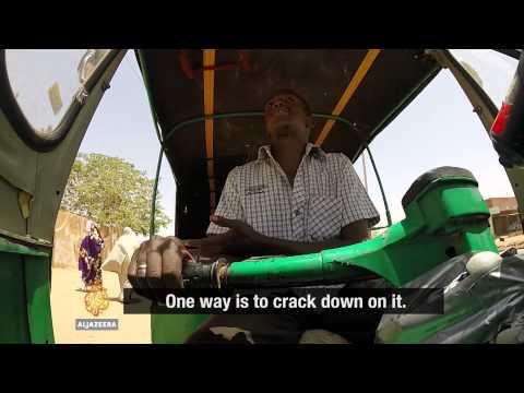 Rickshaw Ride in Khartoum, Sudan