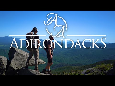 The Adirondacks in 4K   Backpacking in the High Peaks of New York