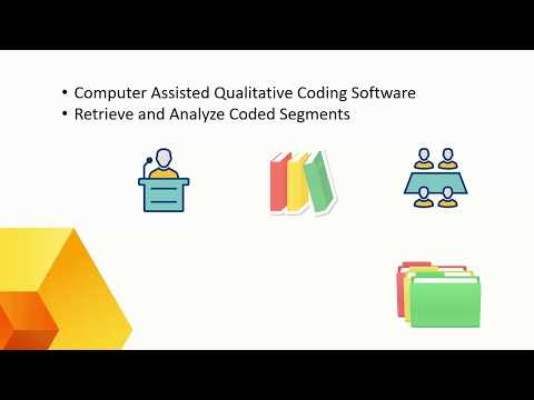 General overview of QDA Miner qualitative data analysis software