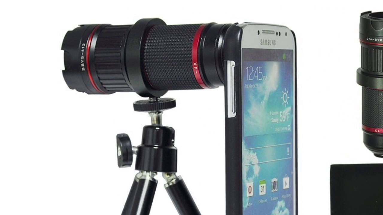 0521d1e42 Luxsure 4x-12x Zoom Lens Review - YouTube