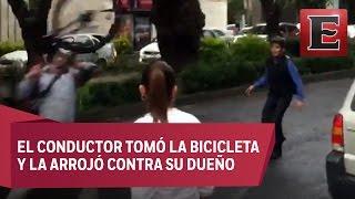 Nueva agresión a ciclista, ahora en Polanco